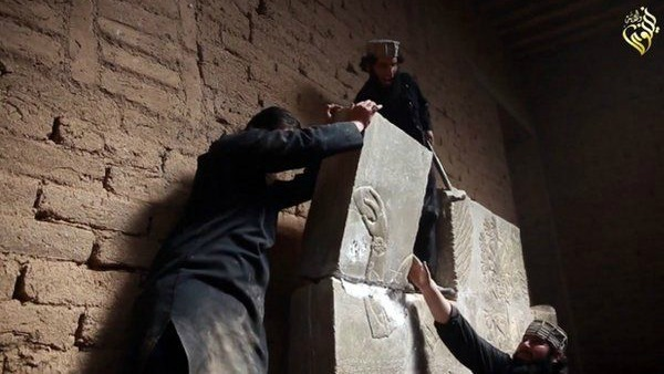 Is, devastazione totale a Nimrud