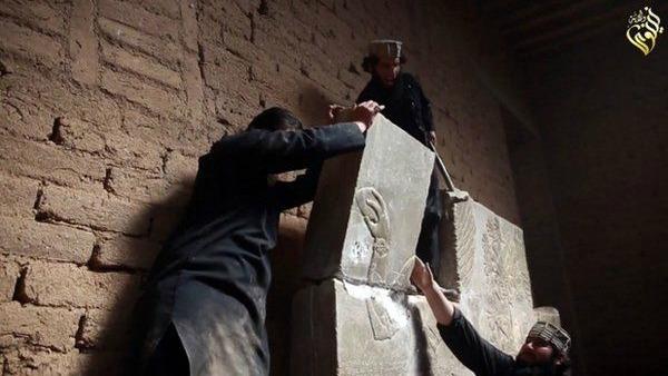 Is, devastazione totale a Nimrud