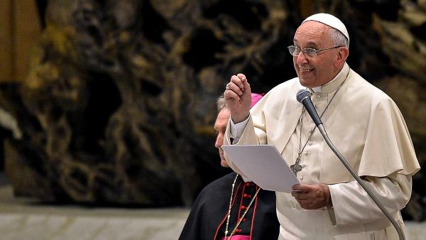 Francesco ai formatori: siate testimoni, non solo maestri