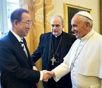 Mons. Sorondo: conclusa l'Enciclica del Papa sull'ambiente