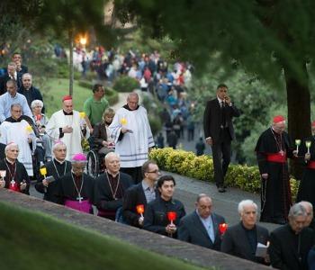 Nei Giardini Vaticani la conclusione del mese mariano