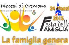 Cremona, domenica la festa della famiglia