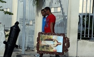 Papa a Cuba