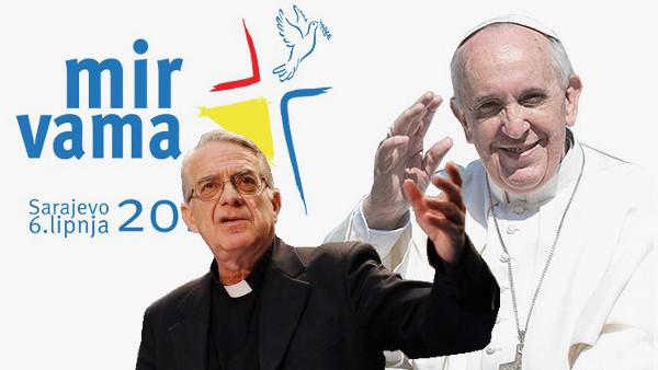 Padre Lombardi: Papa Francesco a Sarajevo nel segno della pace