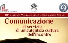 Roma, incontro sulla giornata mondiale delle comunicazioni sociali