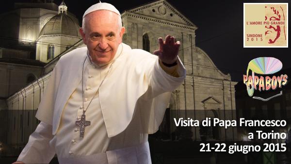 Pubblicato il programma della visita del Papa a Torino: 21-22 giugno 2015
