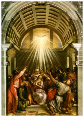 #Vangelo: Lo Spirito di verità vi guiderà alla verità tutta intera.