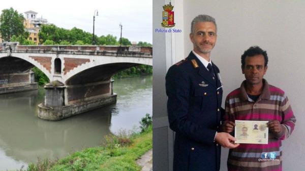 Roma. Immigrato salva donna: permesso di soggiorno