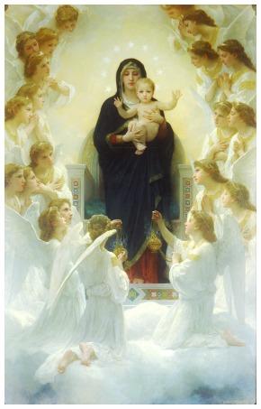 In cammino con Maria. Litanie Lauretane: Regina degli Angeli (30 maggio 2015)