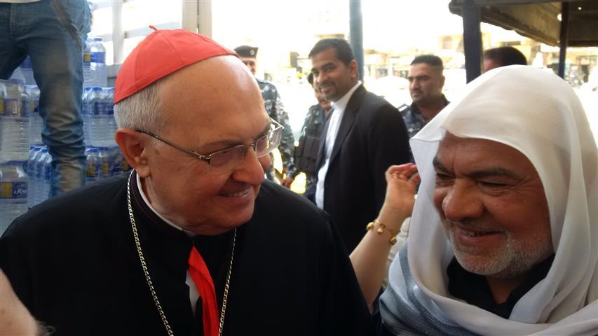 Il card. Sandri tra i cristiani in Iraq: il silenzio internazionale è tradimento