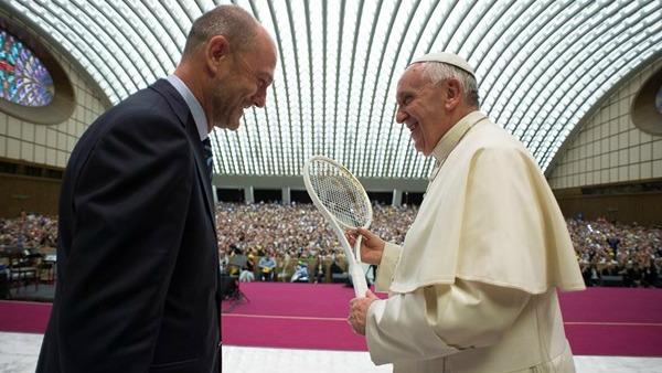 Francesco alla Federtennis: no al doping, atleti siano validi modelli