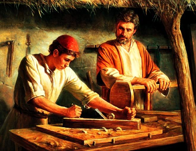 #Vangelo: Non è costui il figlio del falegname?