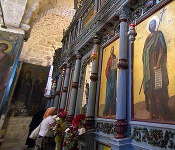 San Gerasimo, uno dei più antichi monasteri della Palestina