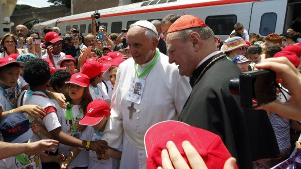 Il Treno dei Bambini torna dal Papa il 30 maggio
