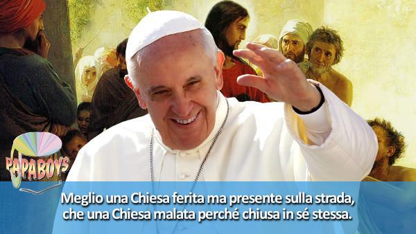 Tweet di Papa Francesco: Meglio una Chiesa ferita ma presente sulla strada, che una Chiesa chiusa in sé stessa.