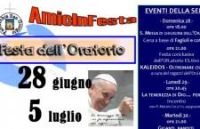 Urbino, Festa dell'oratorio a Montecalvo in Foglia
