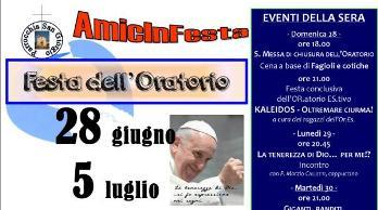 2015 - FESTA ORATORIO - Locandina