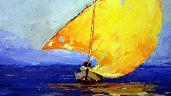 Domenica 21 giugno - Vorrei stare sulla barca dove sei tu