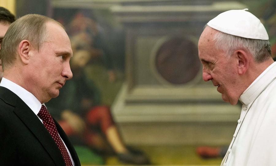 Il 10 giugno Papa Francesco riceverà Putin in Vaticano