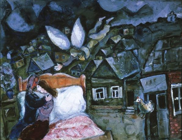 Il sogno 1939 – Marc Chagall
