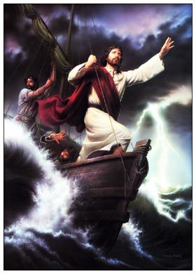 #Vangelo: Chi è costui, che anche il vento e il mare gli obbediscono?