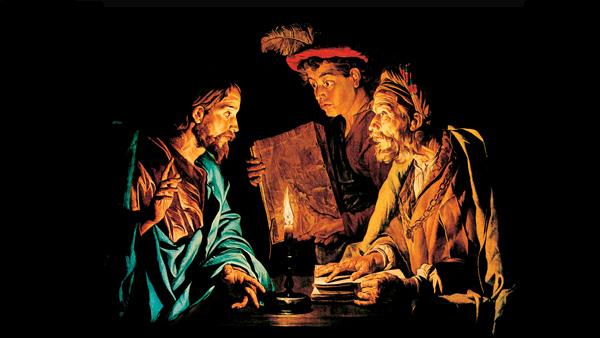 #Vangelo: Non c'è altro comandamento più grande di questi.