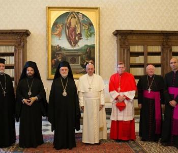 Papa a delegazione Patriarcato ecumenico: non smetto mai di pregare per l'unità