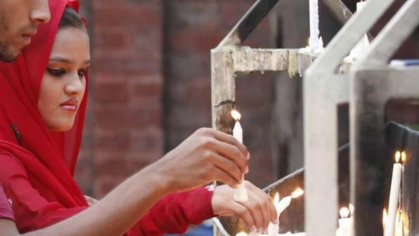 Cristiani in Pakistan, in croce senza paura