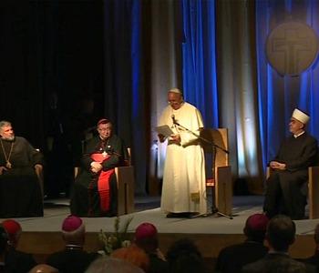 Il Papa ai leader religiosi: il dialogo è fattore di unità