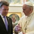 Papa Francesco a colloquio con presidente Colombia su pace e progresso sociale