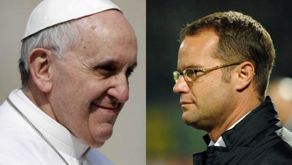 Il Papa incontra Gianluca Pessotto