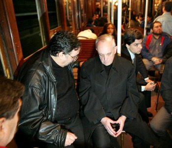 Papa Francesco in metropolitana