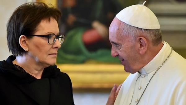 Papa e premier Polonia a colloquio su Gmg di Cracovia e Ucraina