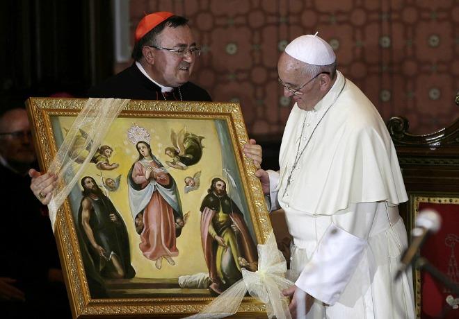 Il cardinale arcivescovo di Sarajevo, membro della commissione Ruini, critica i media che «hanno distorto le parole» del Pontefice, attribuendo loro il valore di un'anticipazione del giudizio sulle apparizioni.