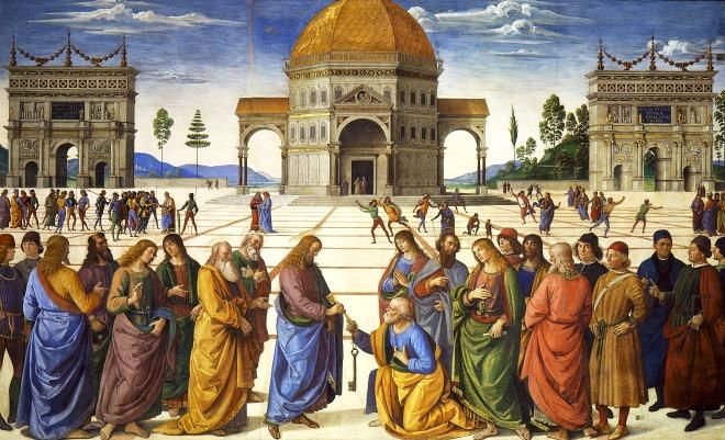 #Vangelo: Tu sei Pietro, a te darò le chiavi del regno dei cieli.
