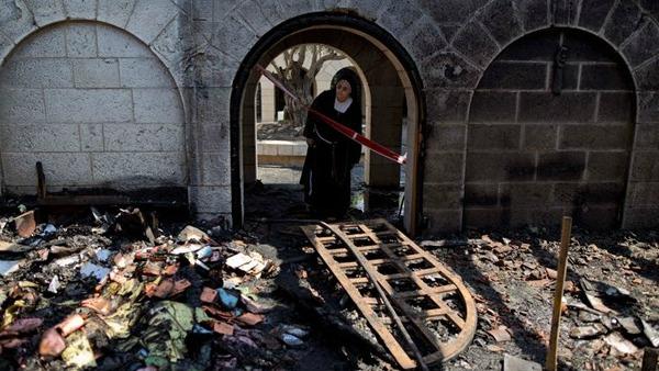 Terra Santa: incendio doloso chiesa della Moltiplicazione a Tabgha