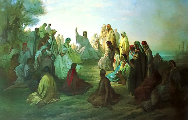 #Vangelo: Non sono venuto ad abolire, ma a dare pieno compimento.