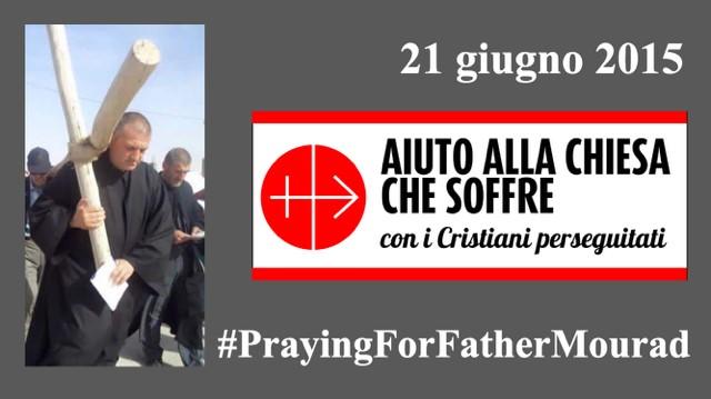 Una giornata di preghiera per padre Mourad, il sacerdote rapito in Siria lo scorso 21 maggio