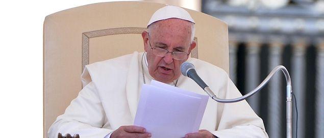 """Papa Francesco presenta la nuova Enciclica """"Laudato si'"""" che sarà pubblicata domani"""