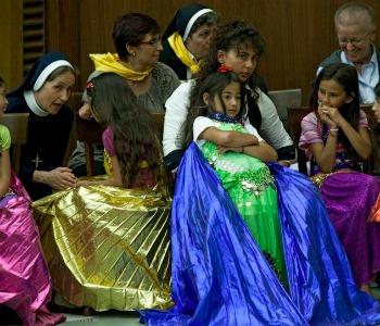 Due rom diventano cristiane. Samira e Jessica ponti tra culture