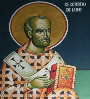 I Santi di oggi – 16 giugno San Ceccardo di Luni Vescovo e martire