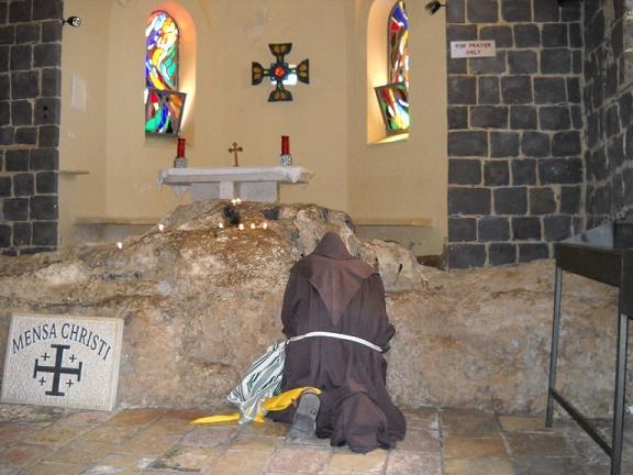 La chiesa del Primato di Pietro è una chiesa di Tabga, in Galilea, nello Stato di Israele, posizionata sulle rive del lago di Tiberiade.