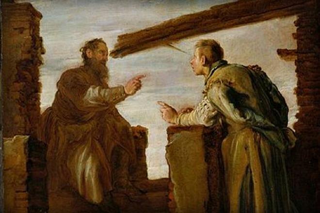 #Vangelo: Togli prima la trave dal tuo occhio.