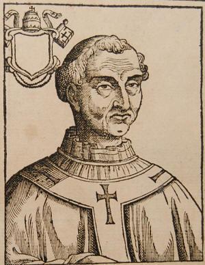 A Spina Lamberti in Emilia, transito di sant'Adriano III, papa, che cercò con ogni mezzo di riconciliare la Chiesa di Costantinopoli con quella di Roma e morì santamente, colpito durante un viaggio in Francia da una grave malattia.