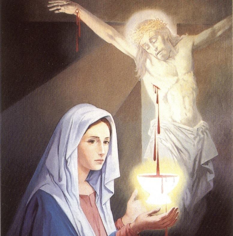 Lode a Maria – 1 Luglio 2019 Madonna del Preziosissimo Sangue, prega per noi