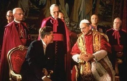 Il primo, il 4 ottobre 1965. Paolo VI con il presidente Kennedy