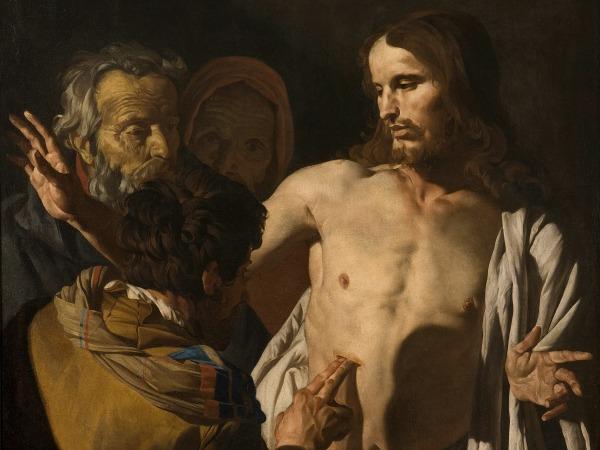 #Vangelo: Se non vedo nelle sue mani il segno dei chiodi e non metto il mio dito...