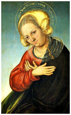 I Santi di oggi – 26 luglio Sant'Anna Madre della Beata Vergine Maria