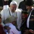 Il Papa in Bolivia: dialogo per evitare conflitti tra popoli fratelli