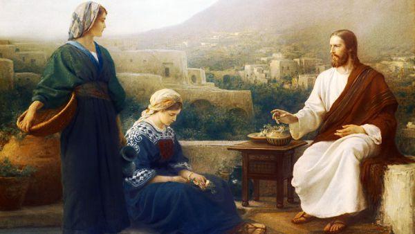 #Vangelo: Marta, Marta, tu ti affanni e ti agiti per molte cose